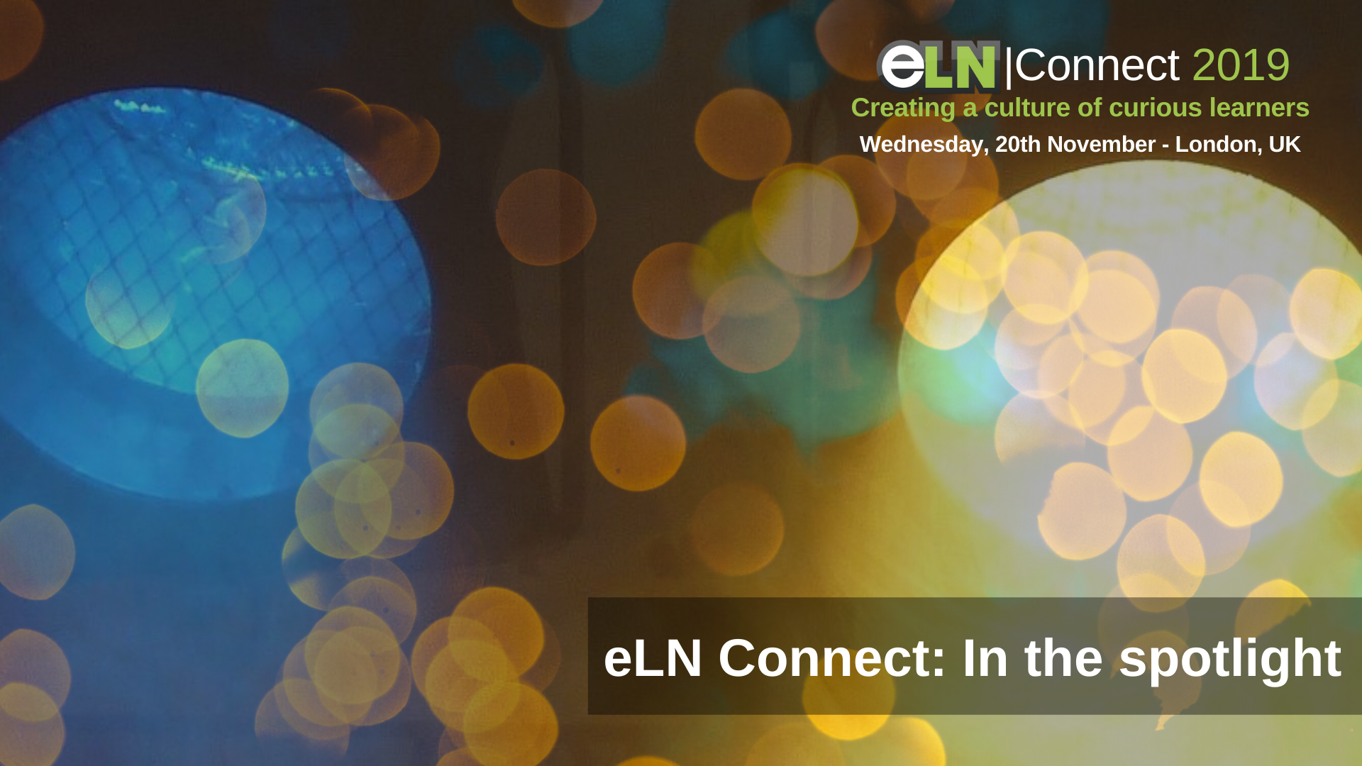 eLN Connect in the spotlight